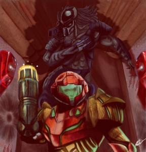 Metroid_Predator_Hunted