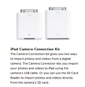 ipad adapters