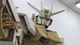 Amazing cardboard Gundam, and it only cost $25 to make!