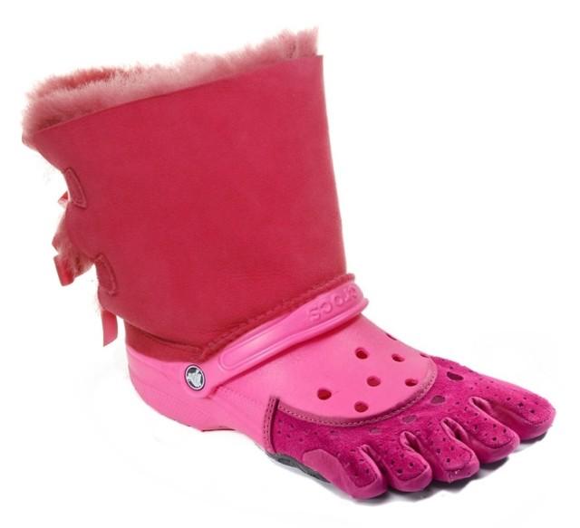 The-Ugg-Croc-Toe-Shoe