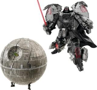 Transformers Darth Vader/Death Star