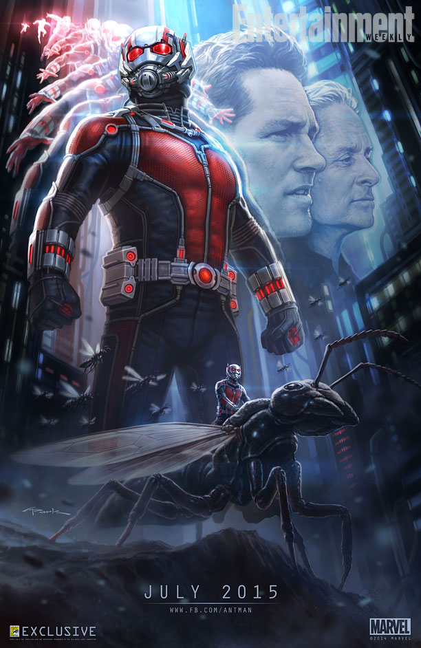 SDCC Ant-Man poster