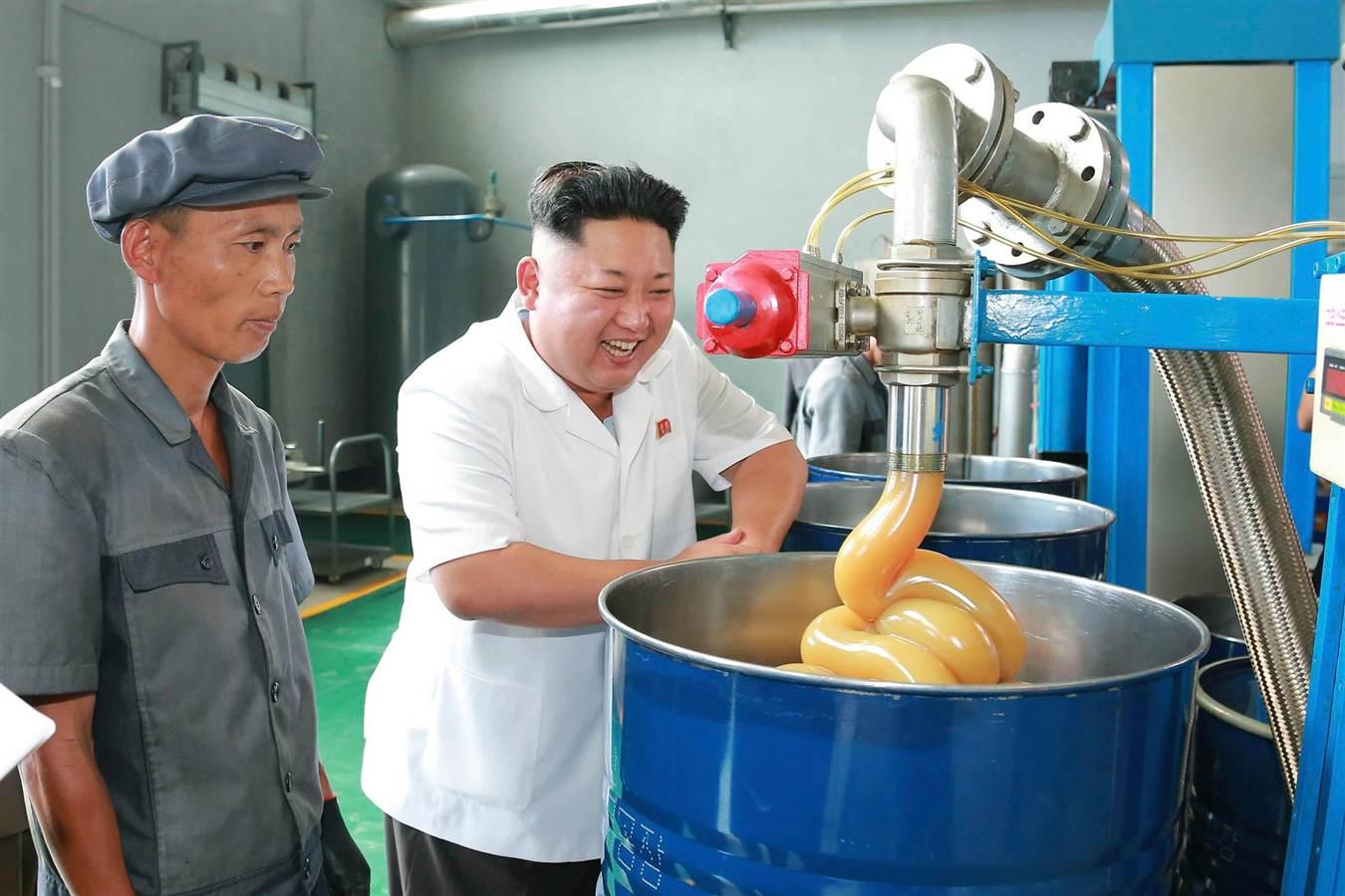 kim jong un cheese