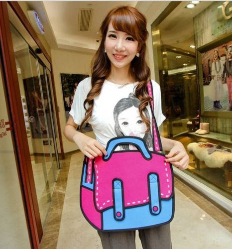 2dcartoonbag