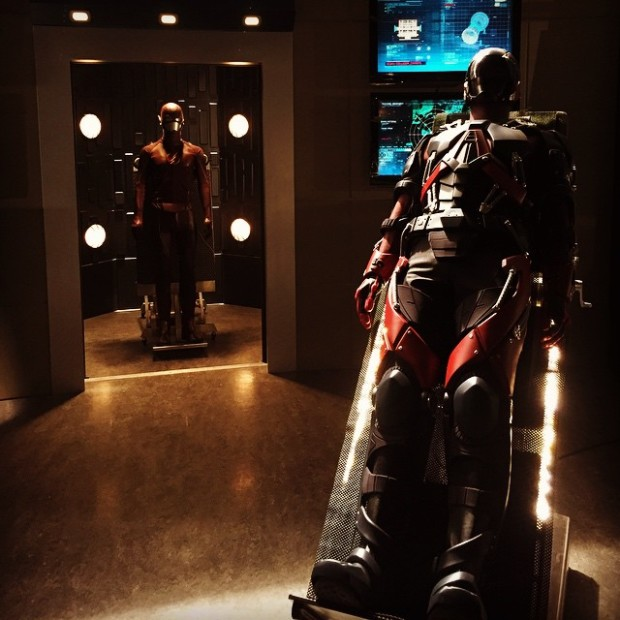 The Atom suit in Star Labs
