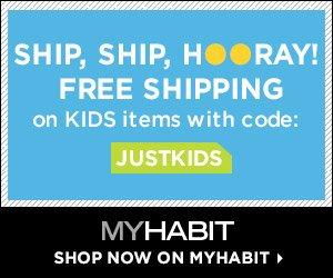 Shop MyHabit - Free shipping on Kids items, Promo code: JUSTKIDS