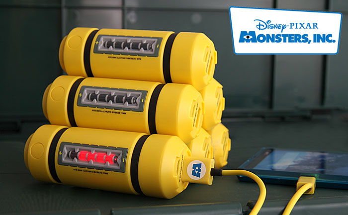 I Need One Monsters Inc Energy Tank Phone Charger
