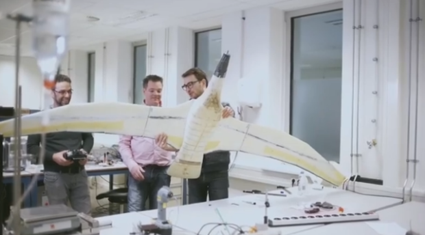 Nivea seagull drone
