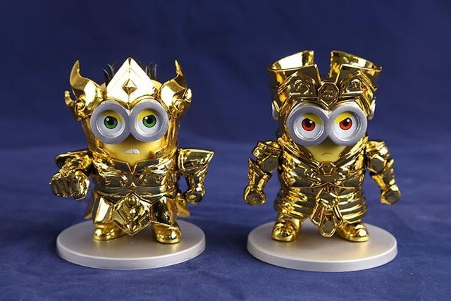 Despicable Me Minions Cosplaying As Saint Seiya S Gold